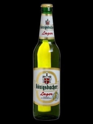 קוניגסבכר לאגר בקבוק